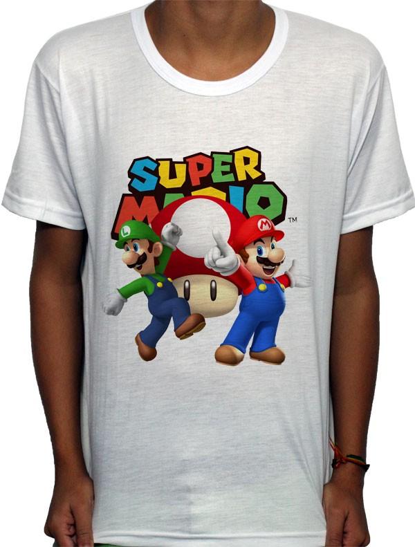 Camisa SB Super Mario Bros