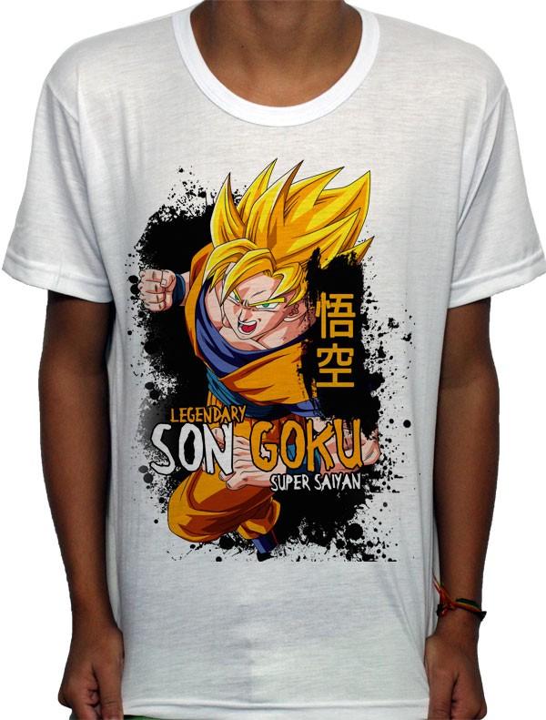 Camisa SB - TN Super Saiyan Goku