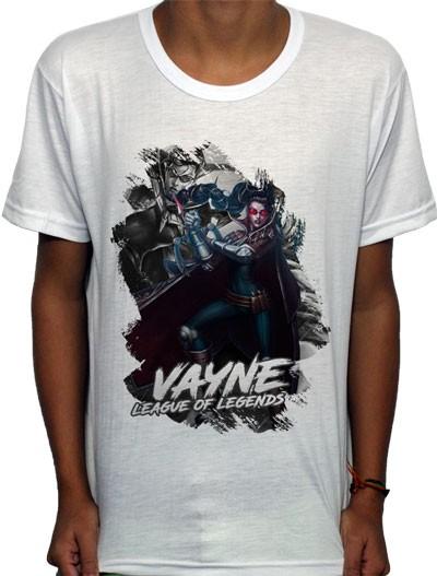 Camisa SB - TN Vayne - League Of Legends