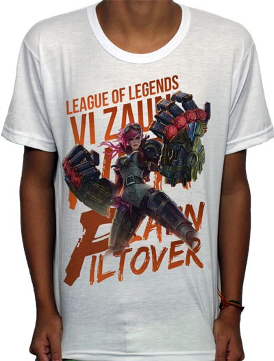 Camisa SB - TN Vi - League Of Legends