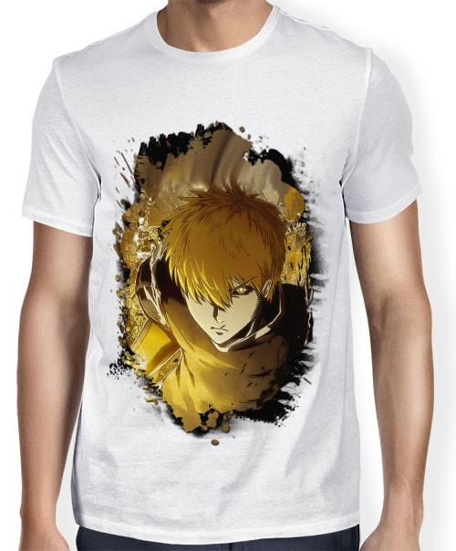 Camisa SB - TN Brusher Genos - One Punch Man