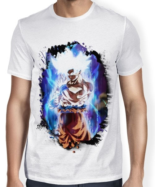 Camisa SB - TN Brusher Goku Instinto Superior Completo - Dragon Ball Super