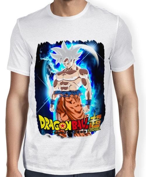 Camisa SB - TN  Moldura Goku Instinto Superior Completo - Dragon Ball Super