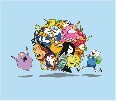Mouse Pad - Todos Adventure Time