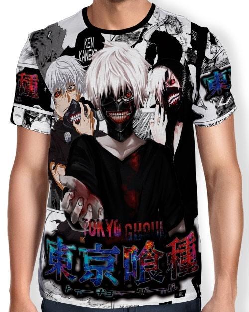 Camisa Full Print - Tokyo Ghoul
