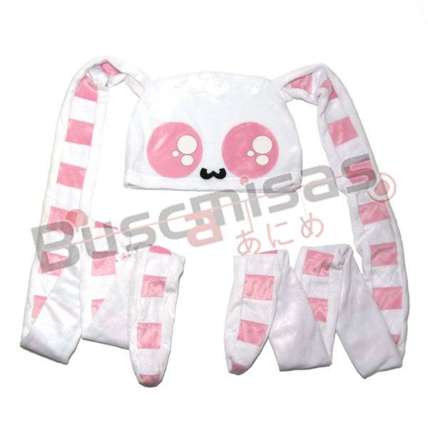 CTOC-02 - Orelha Gigante B/Rosa Listrada