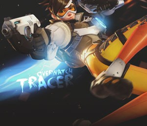 Mouse Pad - Tracer - Overwatch