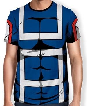 Camisa Full Print Uniforme - U.A. High School - Boku no Hero