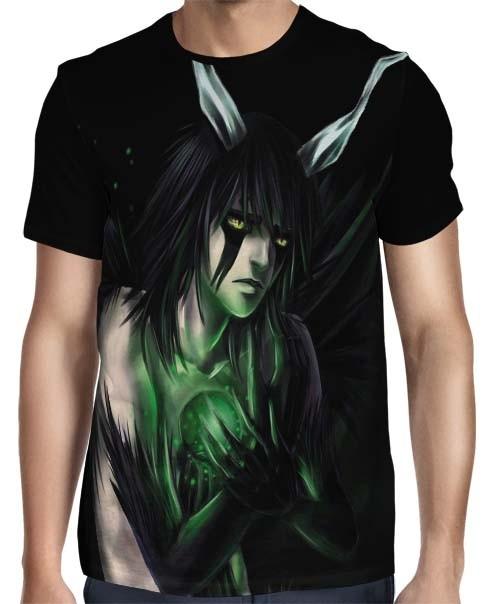 Camisa Full Ulquiorra - Bleach