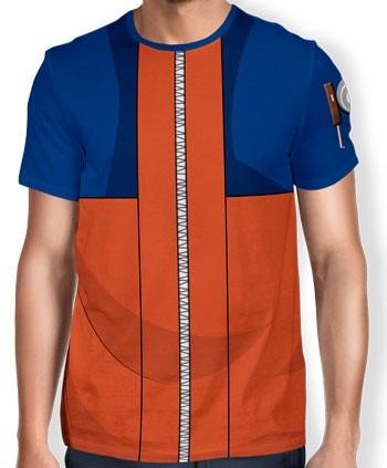 Camisa Full Print Uniforme - Naruto Classico - Naruto