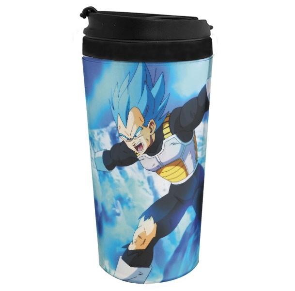 Copo Térmico Dragon Ball Super - Blue God Vegeta