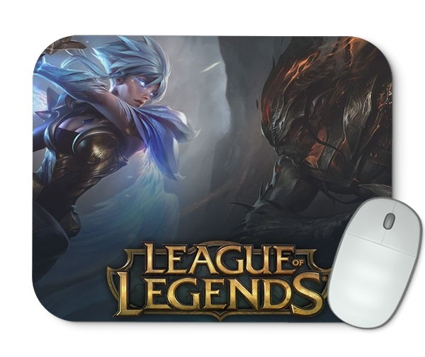 Mouse Pad - YASUO VS RIVEN - League of Legends