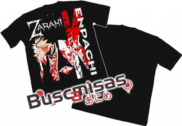 Camisa Bleach - Zaraki Sangue