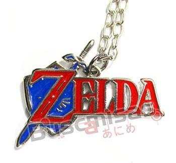 ZE-09 - Colar Logo - The Legend of Zelda