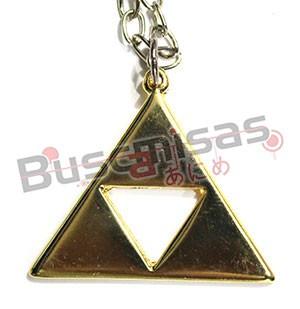 ZE-11 - Colar Triforce Dourado - The Legend of Zelda