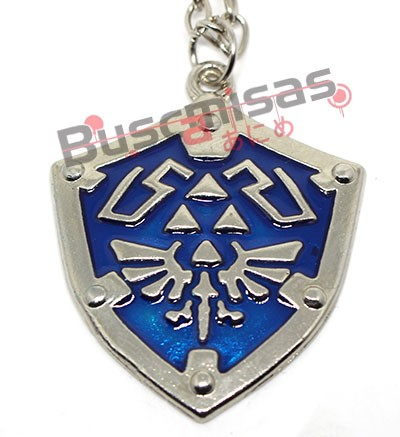 ZE-14 - Colar Escudo de Hyrule - The Legend of Zelda