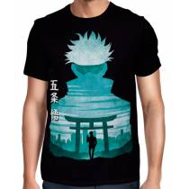 Camisa Full Minimalista Jujutsu Kaisen - Satoru Gojo