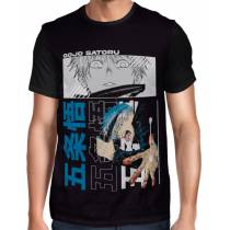 Camisa Full Minimalista Jujutsu Kaisen - Satoru Gojo Mod 03