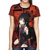 Camisa Akame ga Kill Akame Full Print