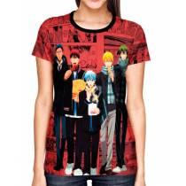 Camisa Full PRINT Kuroko no Basket - Exclusiva