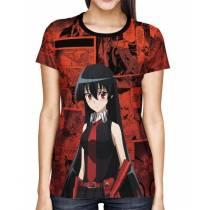 Camisa Akame ga Kill Akame Full Print Mod 02