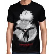 Camisa FULL L Lawliet Minimalista - Death Note