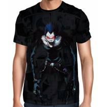 Camisa Full Print Death Note - Ryuk Exclusiva