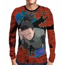 Camisa Manga Longa Naruto - Exclusiva Shikamaru - Full Print