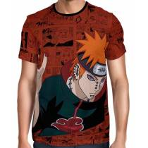 Camisa Full Print Color Mangá Exclusiva - Pain Modelo 02  - Naruto