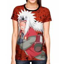 Camisa Full Print Color Mangá Exclusiva - Jiraya Modelo 02 - Naruto