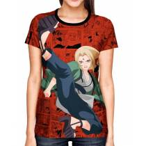 Camisa Full Print Color Mangá Exclusiva - Tsunade Modelo 02 - Naruto