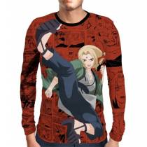 Camisa Manga Longa Naruto - Tsunade Mod 02 - Full Print