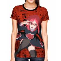 Camisa Full Print Color Mangá Exclusiva - Karin - Naruto