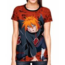 Camisa Full Print Color Mangá Exclusiva - Pain Ajisai  - Naruto