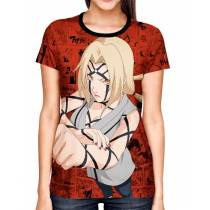 Camisa Full Print Color Mangá Exclusiva - Tsunade Sennin Mode - Naruto