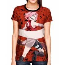 Camisa Full Print Color Mangá Exclusiva - Sakura  Modelo 02  - Naruto