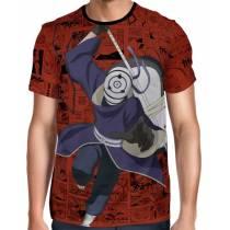Camisa Full Print Color Mangá Exclusiva - Tobi - Naruto