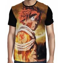 Camisa FULL Dragon Fire Natsu - Fairy Tail