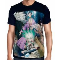 Camisa Full Dr. Stone - Stone Wars