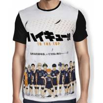 Camisa FULL Haikyuu to the top