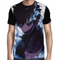 Camisa FULL Dabi - Boku No Hero Academia