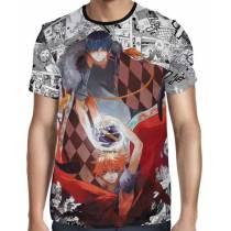 Camisa Full PRINT Mangá Haikyuu - Tobio e Shoyo Modelo 02
