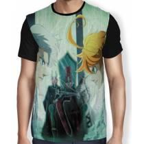 Camisa FULL The Promised Neverland - Emma e Norman