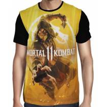 Camisa FULL Scorpion - Mortal Kombat 11