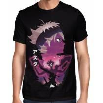 Camisa FULL Asta Minimalista - Black Clover