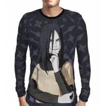 Camisa Manga Longa Naruto - Orochimaru Modelo 2 - Color Print
