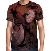 Camisa Full Color Print Jujutsu Kaisen - Sukuna