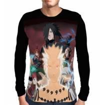 Camisa Manga Longa Madara - Gaara - Naruto