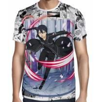 Camisa Premium - Sword Art Online Kirito Modelo 02