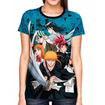 Camisa Full Color Print Blue - Bleach